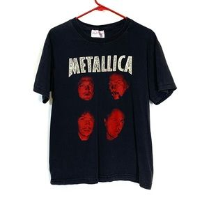 Vintage Metallica Band Heavy Metal T-Shirt